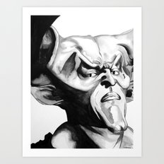 Lord of Darkness Art Print