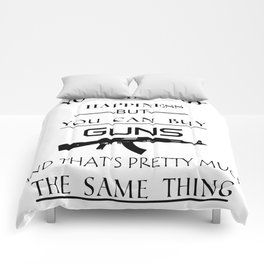 Happiness Guns Comforters