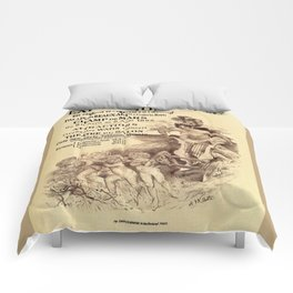 Expo Commerce Paris 1893 Comforters