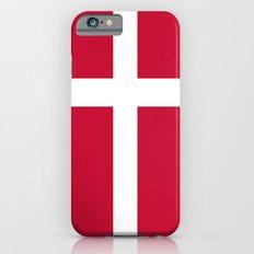 Flag of Denmark iPhone 6s Slim Case