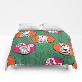cute circle pattern Comforters