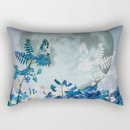 Super Moon v2 - Blue #buyart Rectangular Pillow