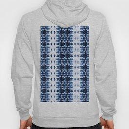 Blue Kumo Ikat Stripe Hoody