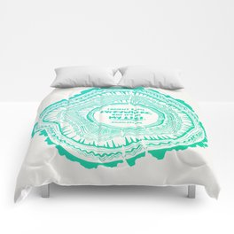 My List – Turquoise Ombré Comforters