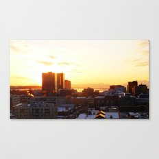 Anchorage Sunset Canvas Print