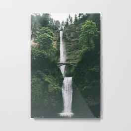 Multnomah Falls III Metal Print