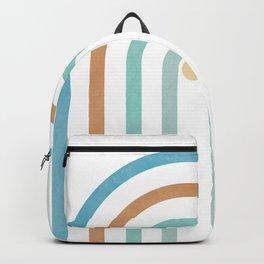 Pure Arch Portal 04 - Minimal Geometric Print Backpack