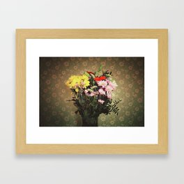 Flowers for her Framed Art Print