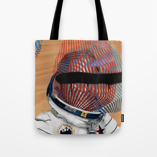 Spaceman No:2 Tote Bag