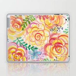 Sunshine and Roses Laptop & iPad Skin