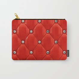 Red upholstery pattern Carry-All Pouch