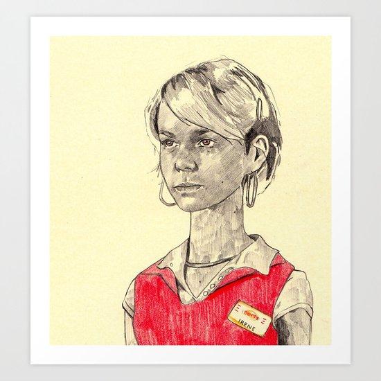 Irene Art Print