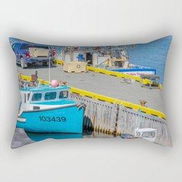 ochrepit docks Rectangular Pillow