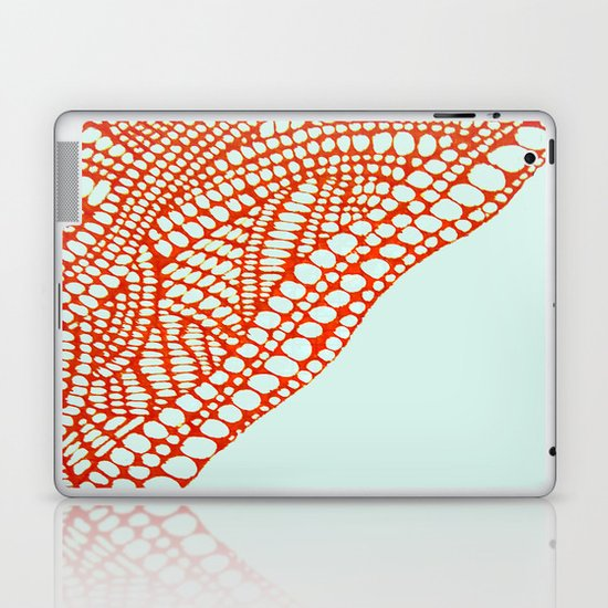 "Hand Drawn ""Orange Stones"" Doodle Laptop & iPad Skin"