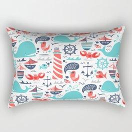 Ahoy Matey Rectangular Pillow
