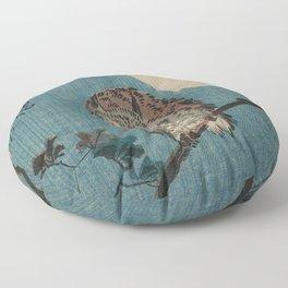 Vintage Japanese Owl Floor Pillow