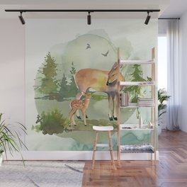 Woodland Forest 1 Wall Mural