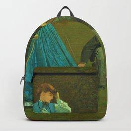 Winslow Homer1 - Croquet Scene - Digital Remastered Edition Backpack