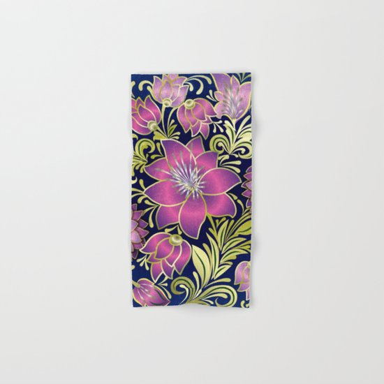 Shabby flowers #1 Hand & Bath Towel