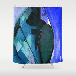 Abstraction 317I by Kathy Morton Stanion Shower Curtain