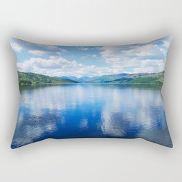 Loch Katrine: The Trossachs Rectangular Pillow