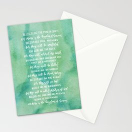The Beatitudes Stationery Cards