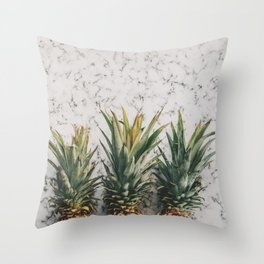 Pineapple Luxe Throw Pillow