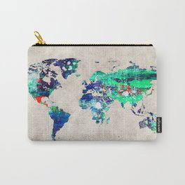 World Map 46 Carry-All Pouch