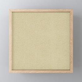 Simply Linen Framed Mini Art Print
