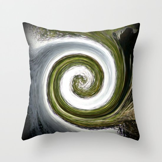 Eye of a Cyclone Throw Pillow