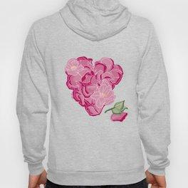 Heart of flowers Hoody