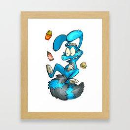 junk food junkie Framed Art Print