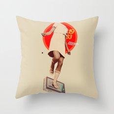 1983 Throw Pillow