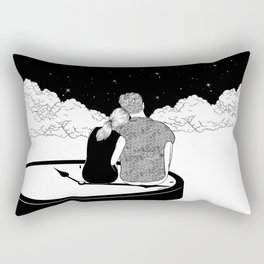 Time stands still Rectangular Pillow