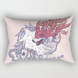 Spirit Animal - Wolf Rectangular Pillow