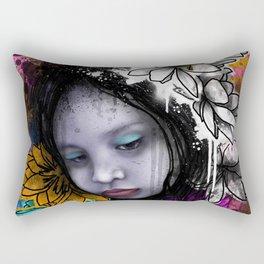 Emotional Chaos Rectangular Pillow