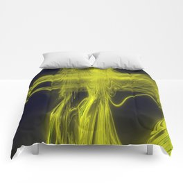 fading gold Comforters