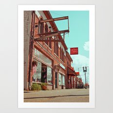 South Tacoma architecture Art Print