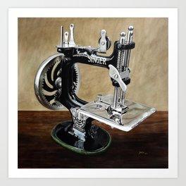The machine VI Art Print
