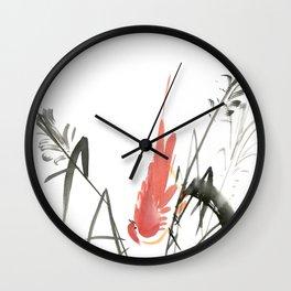 Bird 4- Chinese Shui-mo (水墨) Wall Clock