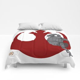 Droid Eek! (red) - BB8 and AT-AT Standoff Comforters