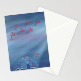Escaping Winter Stationery Cards