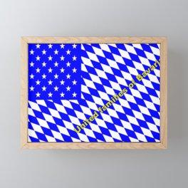 United families of Bavaria ... Framed Mini Art Print