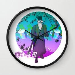 RUNESCAPE SAD JAPANESE AESTHETIC VAPORWAVE Wall Clock