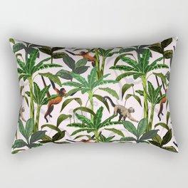 Monkey Jungle Rectangular Pillow