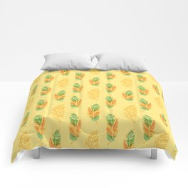 Feather pattern Comforters
