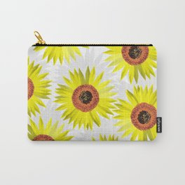 Sunflowers wb Carry-All Pouch