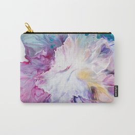 Blooming Iris flower Carry-All Pouch