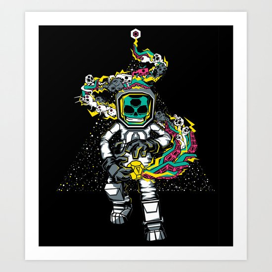 Space Madness! Art Print