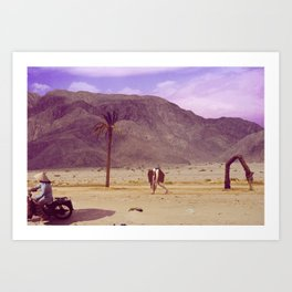 The Death of Land Art Print